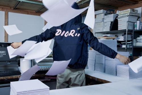 Kim Jones' Dior Men x KAWS Summer 2019 Capsule Collection Available Now