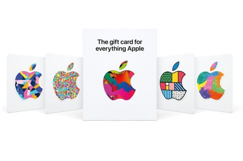 "Apple Launches New Universal Gift Cards for ""Everything Apple"""
