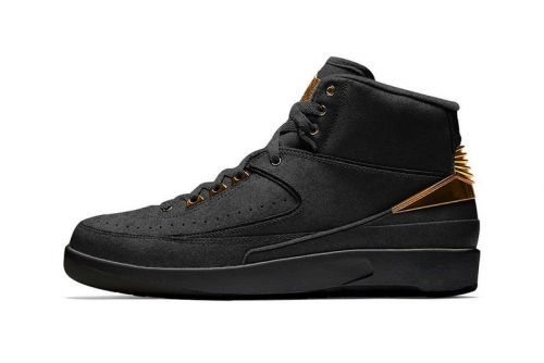 "Jordan Brand to Release Air Jordan 2 ""Black/Metallic Gold"" for Black History Month"