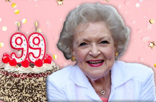 Celebrate Betty White's 99th birthday in style with this memorabilia