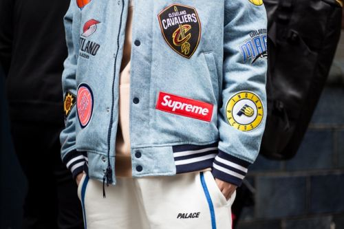 Supreme's Collab With Nike and the NBA Was the Star at This London Drop