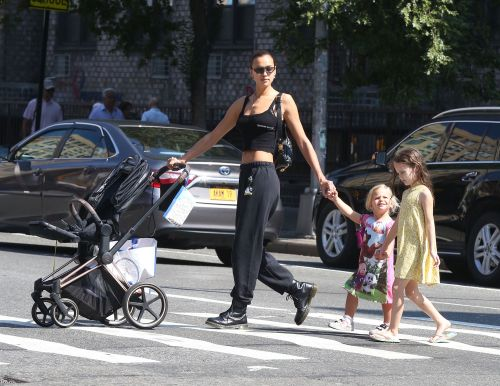 Irina Shayk Shows Off Her Toned Tummy During a Sunday Stroll in NYC