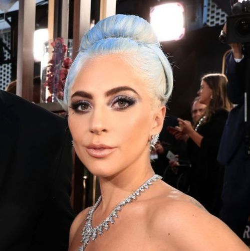 Lady Gaga Dyed Her Hair Blue for the Golden Globes.and it