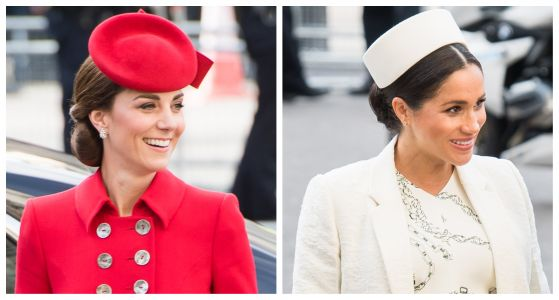 Kate Middleton and Meghan Markle Step Out Alongside Their Husbands for the Commonwealth Day Service