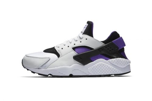 "Nike Outfits the OG-Inspired Air Huarache '91 in ""Purple Punch"""