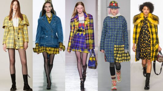Cher Horowitz-Approved Plaid Has Taken Over the Fall 2018 Runways