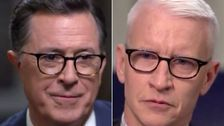 Stephen Colbert Moves Anderson Cooper To Tears With Powerful Words About Grief