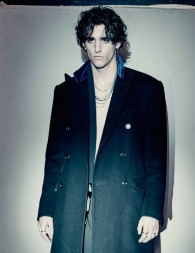 Tamino Stars in Vogue Hommes Paris Shoot, Discusses Harmony Between Music & Fashion