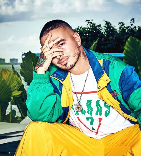 Musician J Balvin Designs A Collection For Guess - And It's All About 1990s Miami