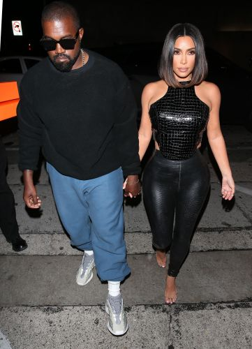 Busy Parents Kanye West & Kim Kardashian Step Out For A Much Needed Dinner Date Night