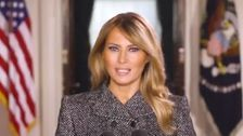 Twitter Users Say 'Good Riddance' To Melania Trump's Farewell Video