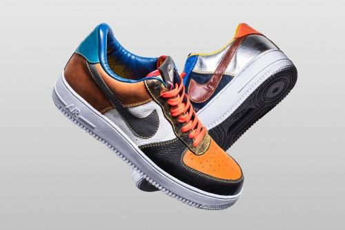 """The She Surgeon Introduces the Nike Air Force 1 Low """"What the Scrap"""" for Black Friday"""