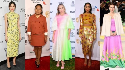 Stars Banished the Winter Blahs With Colorful Clothes This Week