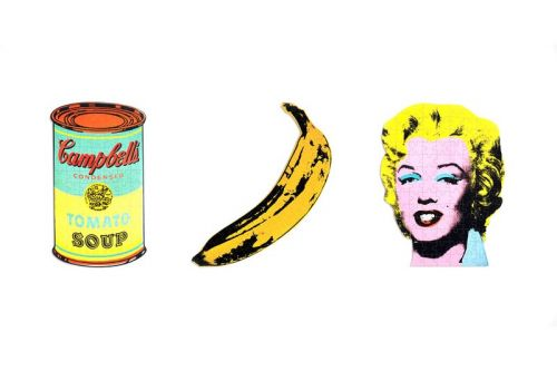 Andy Warhol's Modern Artwork Immortalized in Puzzle Three-Pack