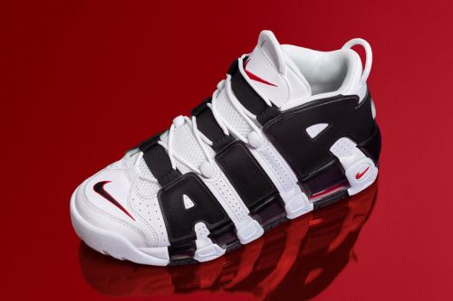 Nike Air More Uptempo Chicago Bulls-Inspired Colorway Rereleases This Week