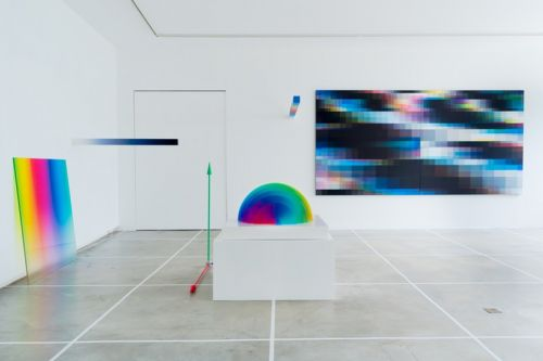 Felipe Pantone Crafts Speedy Glitch Art for New Brussels Exhibit