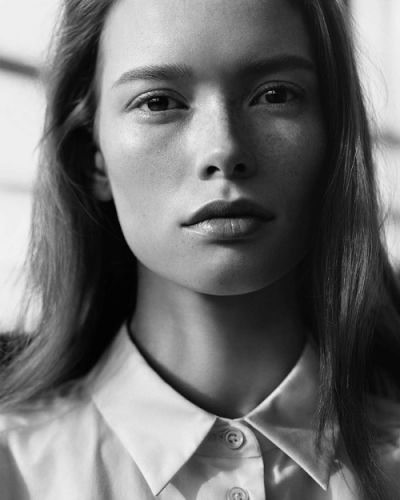 Julia Hafstrom by Alasdair McLellan for the Margaret Howell