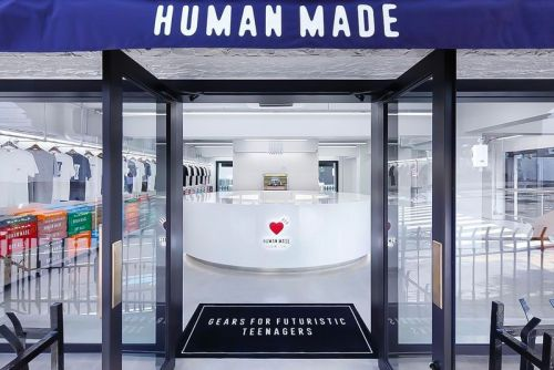 Take a Look Inside the New Gaien Mae HUMAN MADE OFFLINE STORE