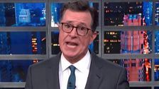 Colbert Thinks Trump Accidentally Revealed Way Too Much About His Marriage