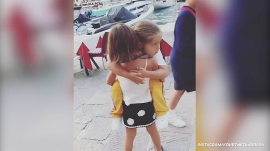 Just a Cute Video of Penelope Disick Asking to Carry Her Little Brother Reign Because It's Friday and You Deserve It