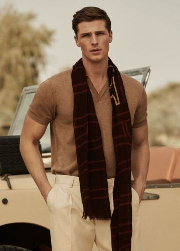 Edward Dons Safari-Inspired Style for Pedro del Hierro