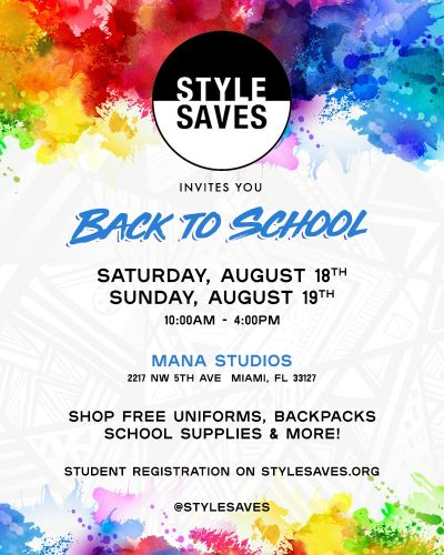 Send Kids Back To School In Style By Joining Forces With The Charity Style Saves