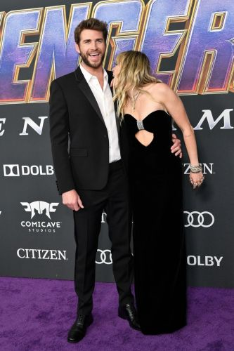 Liam Hemsworth Trolled Miley Cyrus for Their 'Fight' at the 'Avengers: Endgame' Premiere
