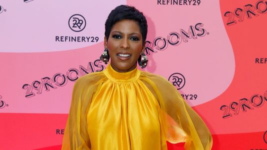 Tamron Hall Showed Love for the Chicago Fashion Scene in Local Brand Azeeza