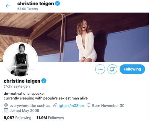 John Legend Won Sexiest Man Alive- But Chrissy Teigen Just Won Twitter