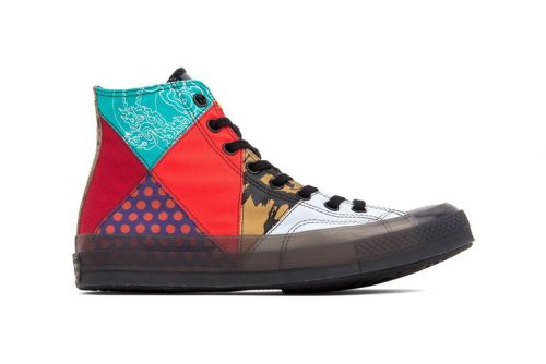 Converse Chuck 70 Gets Eclectic New Patchwork Design