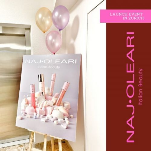Naj Oleari Beauty Launch Event in Zurich