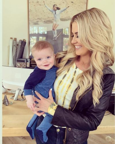 Daddy's Twin! Christina Anstead Calls 5-Month-Old Son Hudson 'Mini Ant' as He Watches Soccer