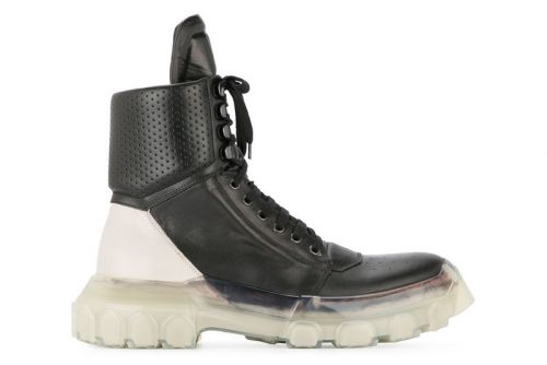 Rick Owens Tractor Dunk Boots Arrive in Time for Fall