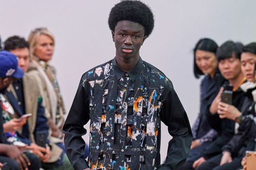 COMME des GARÇONS SHIRT Enlists Futura to Help Reinterpret Tailoring for FW20