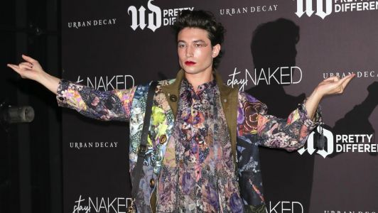 Ezra Miller Continues to Be the Inspired Breath of Fresh Air Every Red Carpet Needs