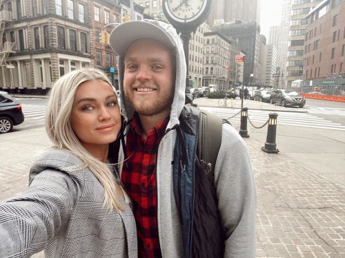 Fall Baby! 'DWTS' Pro Lindsay Arnold and Samuel Cusick Will Welcome Baby No. 1 in Autumn