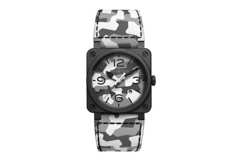 Bell & Ross Drops a Special Edition BR 03-92 in White Camouflage