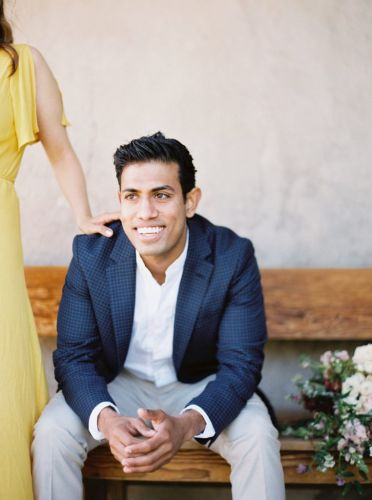 Priya + Devin California Engagement by Ushna Khan