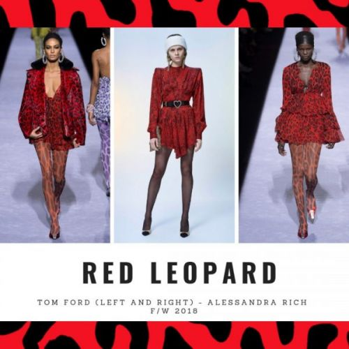 Festive Trend: Red Leopard Print Dresses