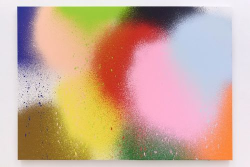 """KATSU Uses Drones to Create Vivid Paintings in """"DOT"""" Exhibition"""