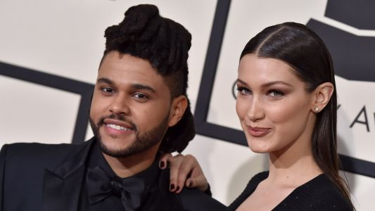 Bella Hadid Shares A Steamy Picture Of Her And The Weeknd Kissing