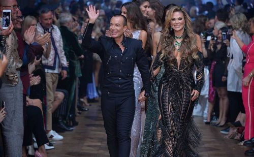 LFW SS20: Julien Macdonald showcases