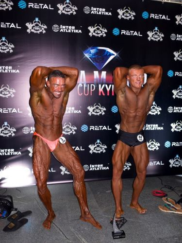 Go behind the scenes of a Ukrainian bodybuilding competition