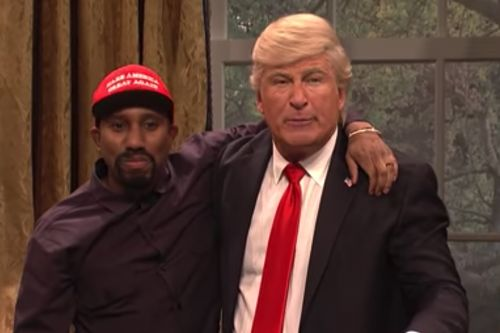 'SNL' skewers bizarre Trump, Kanye Oval Office meeting