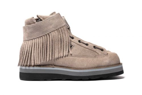 White Mountaineering & Danner Drop Military-Inspired Fringed Moc Boots