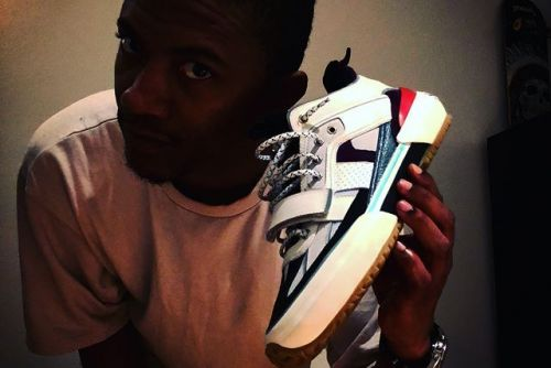Ibn Jasper Shows Off His First Signature Sneaker