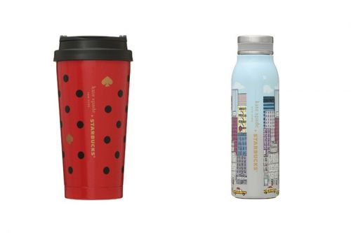 Kate Spade New York and Starbucks Japan Offer First Holiday Collection
