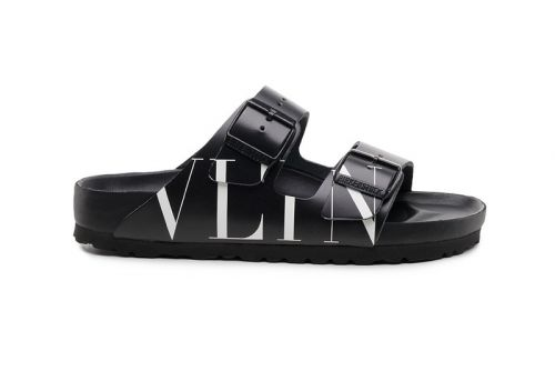 Valentino Unveils Birkenstock Collaboration During Paris Fashion Week 2019