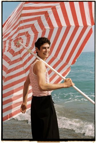 Arthur is a Summer Vision for Risbel Cover Shoot