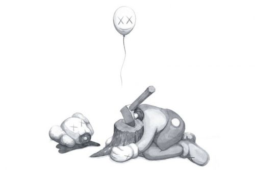 KAWS' 'Beautiful Losers' Print from 2004 Gets an Online Release